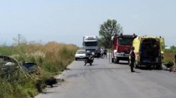 1 νεκρός και 2 τραυματίες σε σύγκρουση 3 οχημάτων στο ύψος του Παλαιοχωρίου