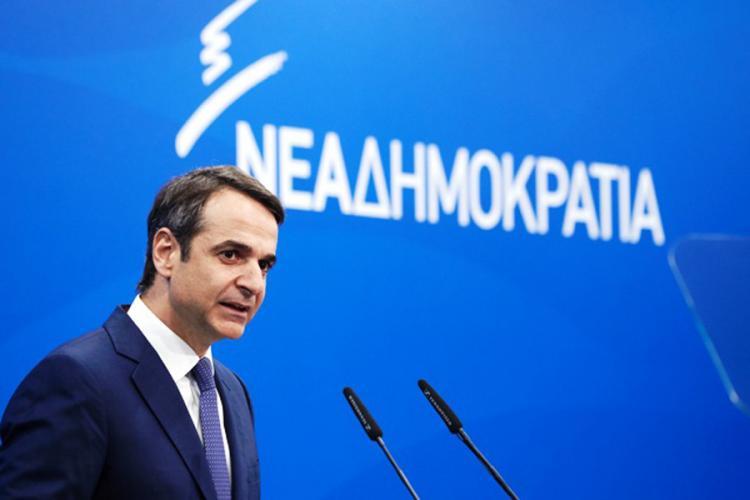 Πολιτική εκδήλωση ΝΟΔΕ Ημαθίας-ομιλία προέδρου Νέας Δημοκρατίας Κυριάκου Μητσοτάκη