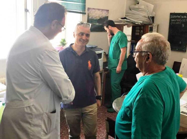 Λ.Τσαβδαρίδης : «Στη ΝΔ δεσμευόμαστε να αναβαθμίσουμε τη δημόσια υγεία μας»