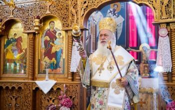 Εορτάστηκε ο Όσιος Αθανάσιος ο Αθωνίτης στη Μικρή Σάντα Βεροίας