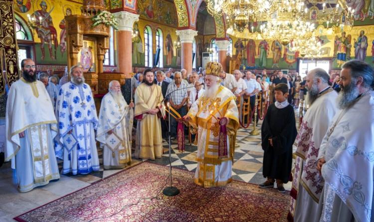 Με λαμπρότητα πανηγύρισε η Ιερά Μονή της Αγίας Κυριακής στο Λουτρό Ημαθίας