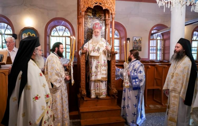 Εορτάστηκε η μνήμη των Οσίων Διονυσίου του Ρήτορος και Μητροφάνους του Πνευματικού στη Φυτειά