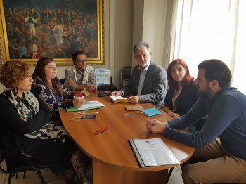 Συνάντηση προέδρων Δικτύου «Τα ΔΗ.ΠΕ.ΘΕ. της Εγνατίας Οδού» στην Κοζάνη
