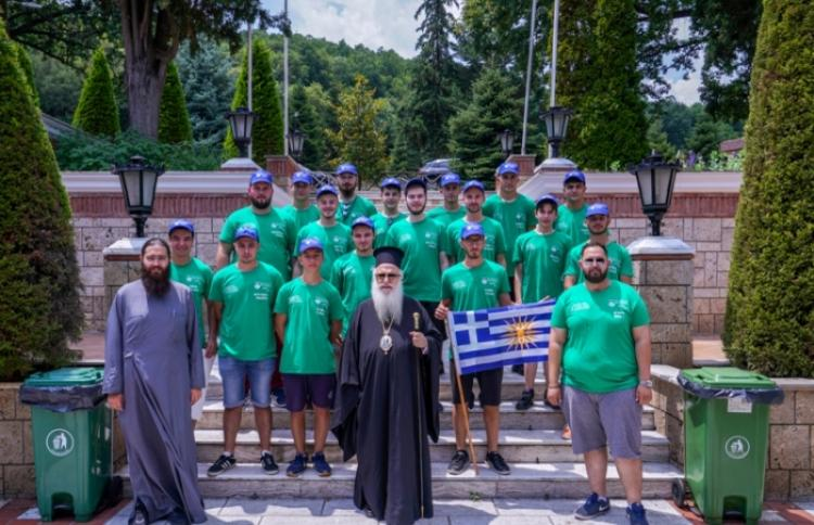 Β΄ Περίοδος φιλοξενίας (αγοριών του Δημοτικού) στις εγκαταστάσεις της Ιεράς Μονής Παναγίας Δοβρά στη Βέροια