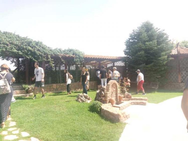 Επίσκεψη των Παιδιών της Άνοιξης στην Ιερά Μονή Οσίου Εφραίμ του Σύρου Κονταριώτισσας