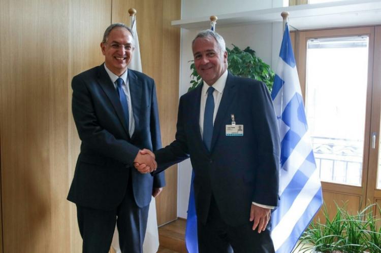 Άτυπη συνάντηση ΥπΑΑΤ Μ. Βορίδη με τον Κύπριο ομόλογό του Κ. Καδή