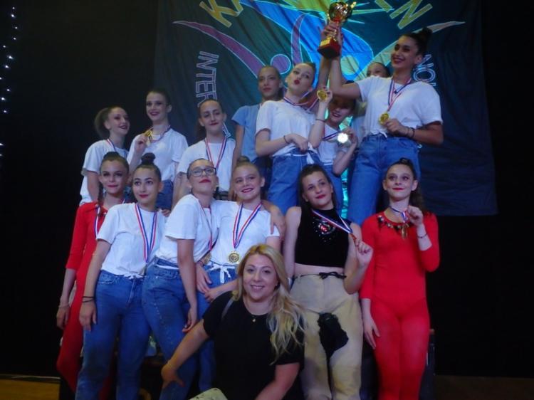 Εκπληκτική εμφάνιση οι χορευτικές ομάδες του ΑΟΡΓ Βέροιας στο KAVALA OPEN 2019