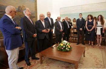 Εκλογή Αντιπροέδρων, Κοσμητόρων και Γραμματέων της Βουλής