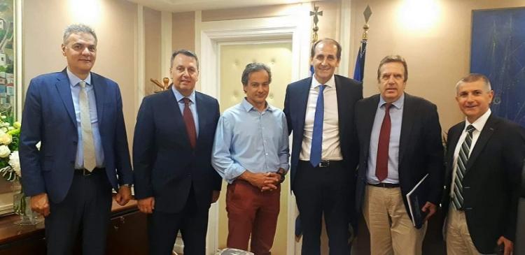 Συνάντηση ΕΣΕΕ με τον Υφυπουργό Φορολογικής Πολιτικής και Δημόσιας Περιουσίας