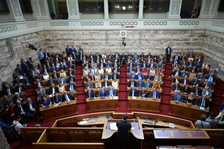 Ομιλία του Πρωθυπουργού και Προέδρου της Ν.Δ. κ. Κ.Μητσοτάκη στη Συνεδρίαση της Κοινοβουλευτικής Ομάδας