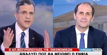 Απ. Βεσυρόπουλος : «Με τις τωρινές αντικειμενικές αξίες η μείωση ΕΝΦΙΑ»