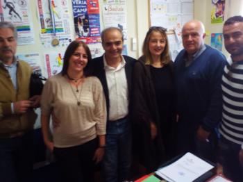 Επίσκεψη κλιμακίου της ΝΕ ΣΥΡΙΖΑ Ημαθίας στο ΚΑΠΑ Δήμου Βέροιας