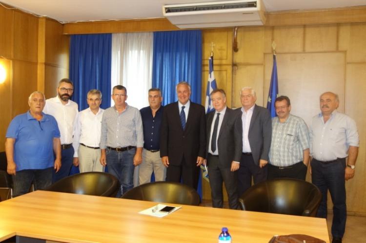 Συνάντηση ΥπΑΑΤ Μάκη Βορίδη με εκπροσώπους του Σ.Α.Σ.Ο.Ε.Ε., παρών ο Χρ. Γιαννακάκης
