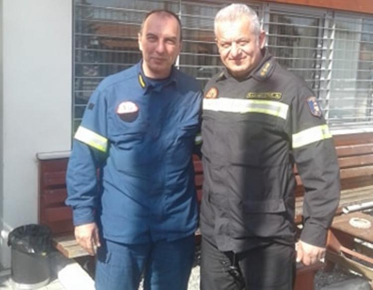 Αγιασμός Πυροφυλακίου Πυροσβεστικής Υπηρεσίας Βέροιας στην Καστανιά