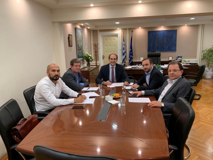 Συνάντηση ΟΕΕ με τον Υφυπουργό Φορολογικής Πολιτικής και Δημόσιας Περιουσίας Απ. Βεσυρόπουλο