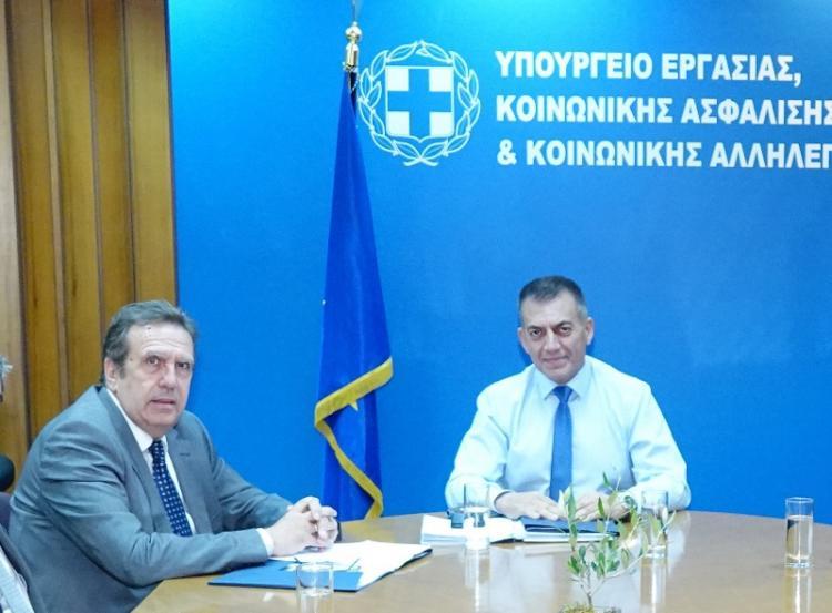 Προτάσεις για τον εξορθολογισμό της εργατικής και ασφαλιστικής νομοθεσίας κατέθεσε η ΕΣΕΕ στον Υπ.Εργασίας και Κοινωνικών Υποθέσεων