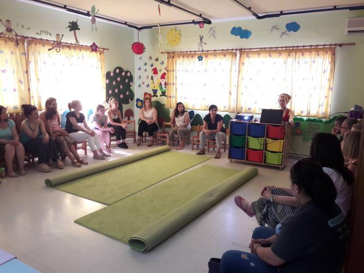 Β' Βρεφονηπιακός Σταθμός& ΣΚ Βέροιας:  Ενημέρωση γονέων και εκπαιδευτικών για τις σχέσεις στην οικογένεια