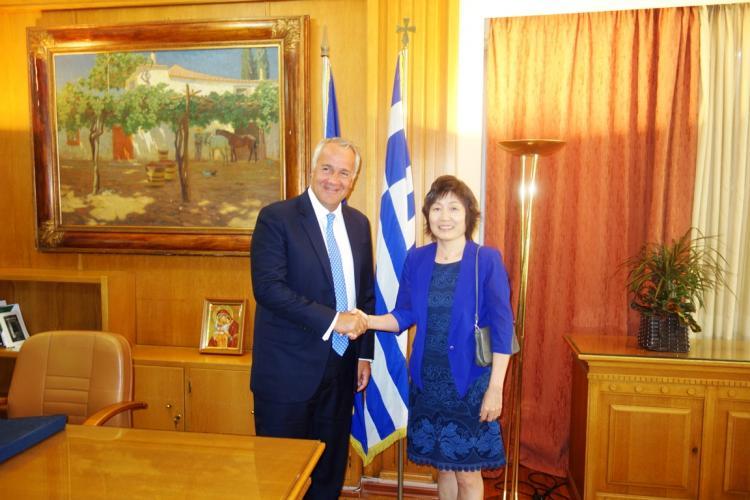 Συνάντηση Βορίδη-Qiyue : Ανοίγει η εσωτερική αγορά της Κίνας στα ελληνικά αγροτικά προϊόντα