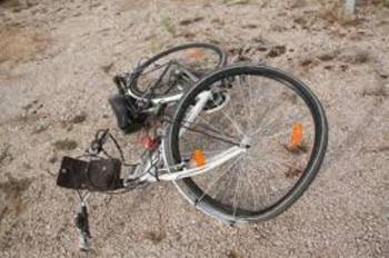 Θανάσιμος τραυματισμός ποδηλάτη στο 25ο χλμ της Επαρχιακής Οδού Βέροιας - Σκύδρας