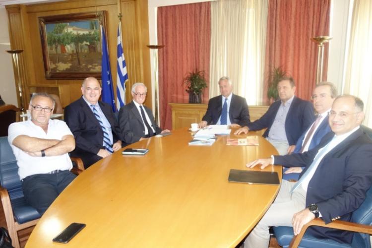 Συνάντηση ΥπΑΑΤ, Μ. Βορίδη με εκπροσώπους της Ένωσης Κονσερβοποιών Ελλάδος