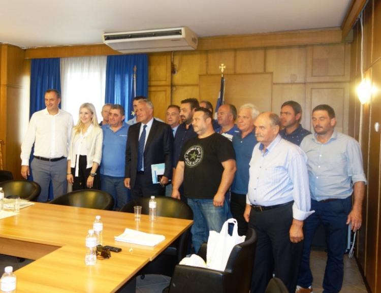 Συνάντηση ΥπΑΑΤ Μ. Βορίδη με εκπροσώπους της Ομοσπονδίας Κτηνοτρόφων
