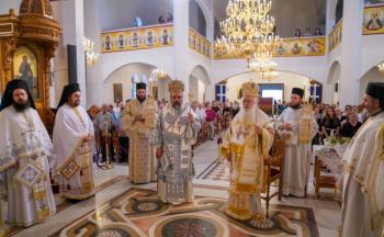 Η εορτή της Μεταμορφώσεως του Σωτήρος Χριστού στην Ιερά Μητρόπολη Βεροίας