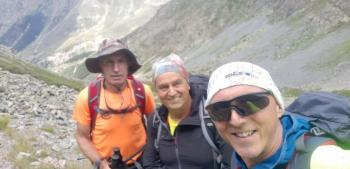 Τρεις Ημαθιώτες στα 4.000 μέτρα των ποντιακών Άλπεων!