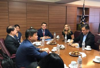 Συνάντηση του ΥφΑΑΤ κ. Κ.Σκρέκα με το Δήμαρχο της πόλης Dongguan για την προώθηση των ελληνικών αγροτικών προϊόντων στην αγορά της Κίνας