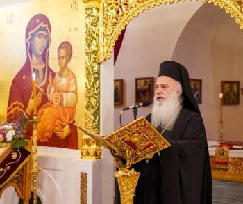 Παρακλήσεις της Παναγίας από το Σεβασμιώτατο στο Κλειδί και στην Αλεξάνδρεια