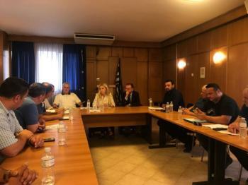 Οι προτεραιότητες που έθεσε ο πρόεδρος της ΠΕΚ, Στέργιος Κύρτσιος, στην υφυπουργό Φωτεινή Αραμπατζή