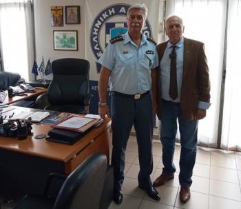 Συνάντηση του Προέδρου του Δικηγορικού Συλλόγου Βέροιας με το νέο Διευθυντή της Διεύθυνσης Αστυνομίας Ημαθίας