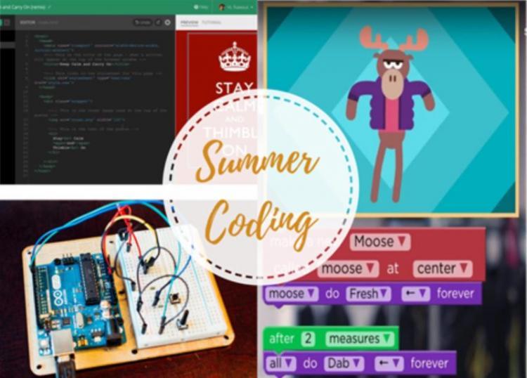 Summer Coding : Εργαστήρια Προγραμματισμού στο Veria Tech Lab - Εγγραφές από 12 Αυγούστου 2019