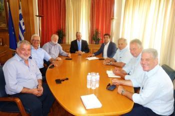 Συνάντηση ΥπΑΑΤ Μάκη Βορίδη με εκπροσώπους της Νέας ΠΑΣΕΓΕΣ