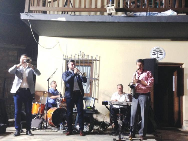Η μπάντα της Φλώρινας στο Ξερολίβαδο