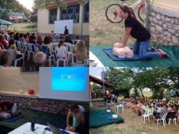 Ενημερωτική ομιλία «Πρώτες Βοήθειες στην καθημερινότητα» από τον Πολιτιστικό Σύλλογο Κουμαριάς «Η ΝΤΟΛΙΑΝΗ»