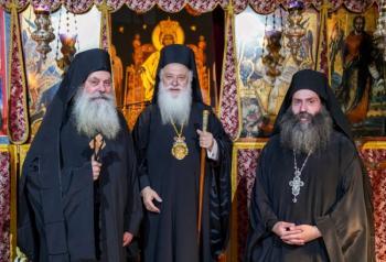 Παράκληση της Θεοτόκου και Κουρά Μοναχού στην Ιερά Μονή Παναγίας Καλλίπετρας
