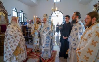 Αρχιερατική Θεία Λειτουργία επί τη μνήμη του Αγίου Νικολάου του Κοκοβίτη στο Πολυδένδρι