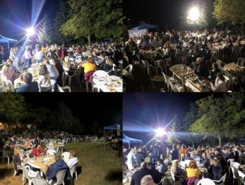 Πλήθος κόσμου στη λαϊκή βραδιά που διοργάνωσε ο Πολιτιστικός Σύλλογος Κουμαριάς «Η ΝΤΟΛΙΑΝΗ»