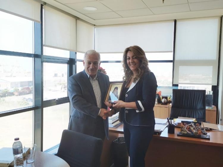 Συνάντηση του πρόεδρου της ΠΕΔΚΜ με την προϊσταμένη του γραφείου του πρωθυπουργού στη Θεσσαλονίκη