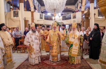 Αρχιερατικό συλλείτουργο για τον Πολιούχο της Ναούσης Όσιο Θεοφάνη