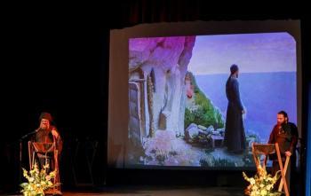 Παράσταση του Θεατρικού Εργαστηρίου «Όσιος Θεοφάνης της Ναούσης πατήρ και διδάσκαλος»