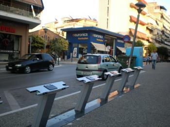 28 ποδήλατα δημόσιας χρήσης διαθέσιμα στους πολίτες για κίνηση στον αστικό ιστό της Βέροιας