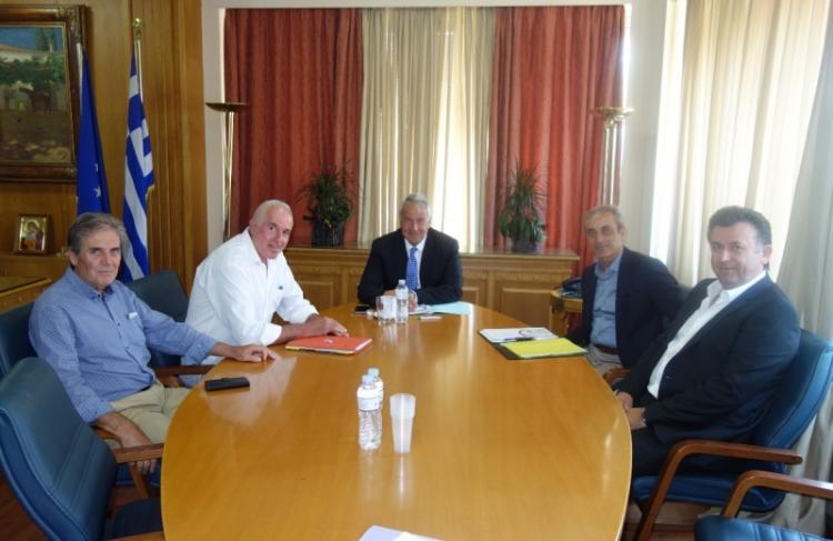 Συνάντηση ΥπΑΑΤ Μ. Βορίδη με εκπροσώπους της ΚΕΟΣΟΕ