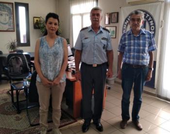 Συνάντηση στελεχών της Πρωτοβουλίας για το Παιδί με τον Αστυνομικό Διευθυντή Ημαθίας