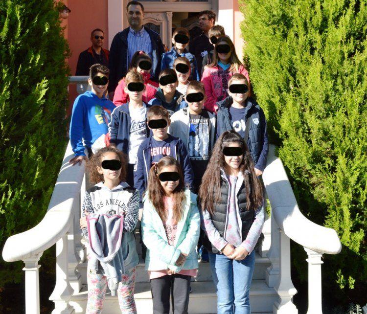 Το 8ο Δημ. Σχολείο Βέροιας (ΣΤ΄τάξη) στο Βλαχογιάννειο μουσείο