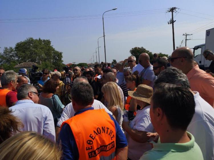 Ξεσηκώθηκαν οι κάτοικοι του Πολυπλάτανου για τη μόλυνση της Τ66