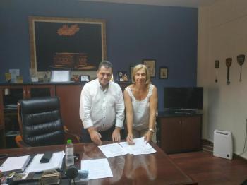 Συμβάσεις δύο σημαντικών νέων έργων οδοποιίας για την Π.Ε. Ημαθίας, υπέγραψε ο Αντιπεριφερειάρχης Κ.Καλαϊτζίδης