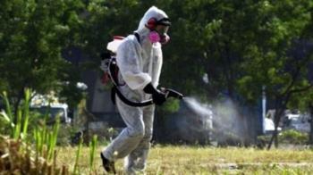 Ψεκασμός για την καταπολέμηση των ακμαίων κουνουπιών στον οικισμό Παλαιοχωρίου