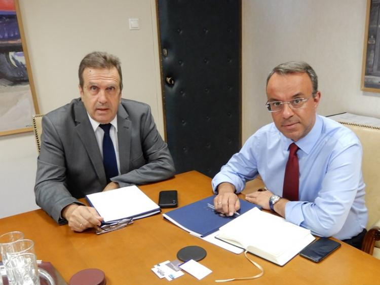 Συνάντηση της ΕΣΕΕ με τον Υπουργό Οικονομικών κ. Χρήστο Σταϊκούρα