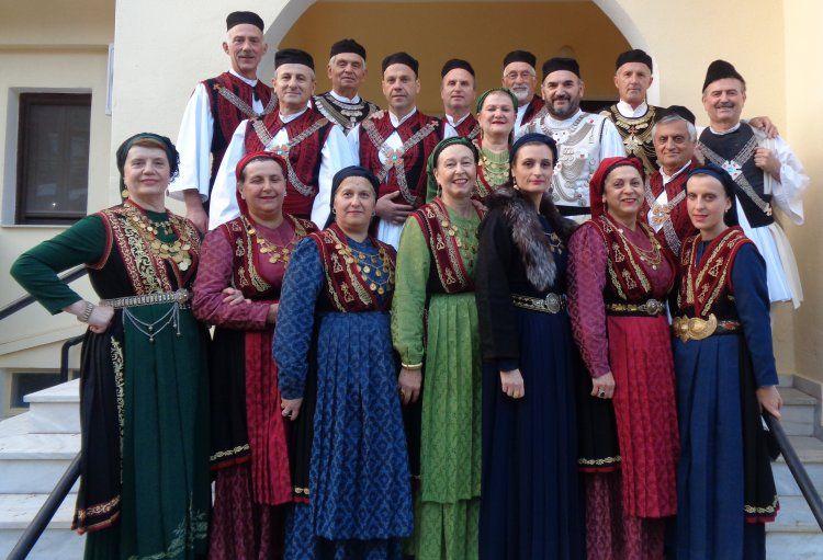 Ο Πολιτιστικός Όμιλος Ξηρολιβάδου στο Δαμάσι Θεσσαλίας